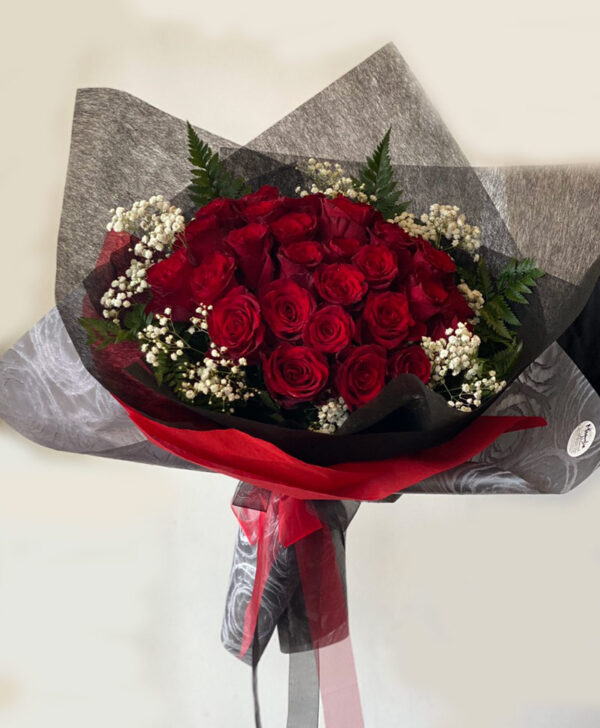 Custom Red Roses Bouquet