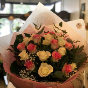 20 Pastel Rose Bouquet (one size)