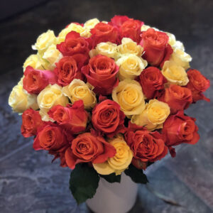 Cusom Bright Rose Bouquet